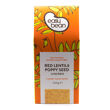 Red Lentil & Poppy Seed Crackers