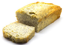 Lime poppy seed cake