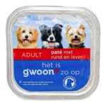 G'Woon Hond Adult Pate Lever