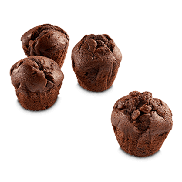 Luxe Muffin Dub Chocolade