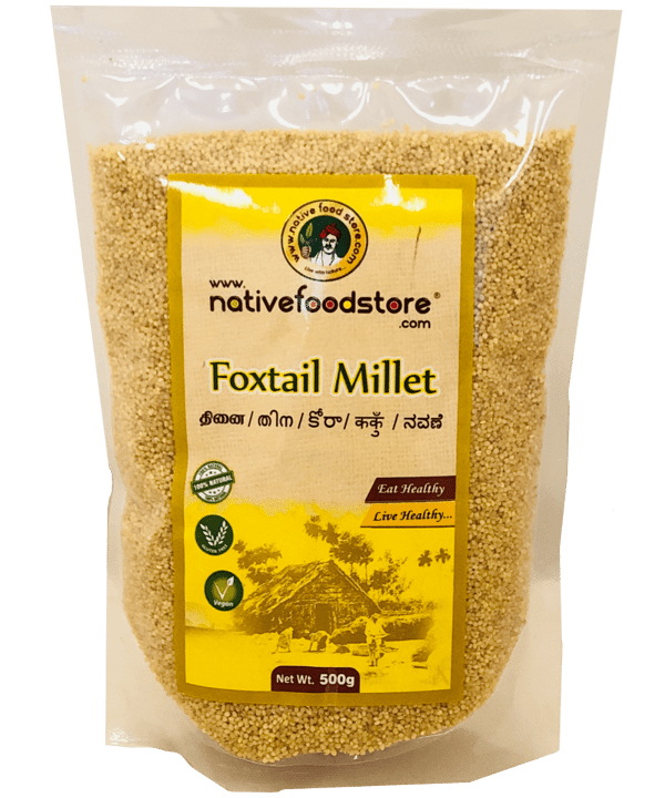 Native Food Thinai / Foxtail Millet 500Gr