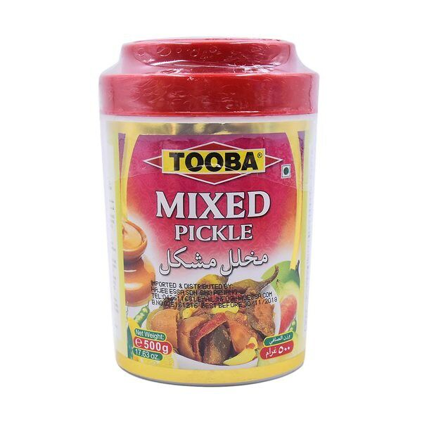 Tooba Mix Pickle 500 Gr
