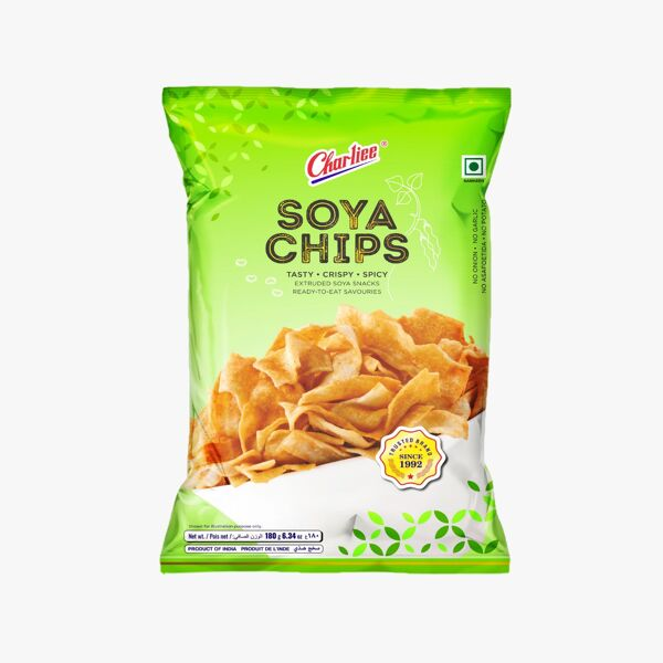 Charliee Soya Chips 180 Gr.