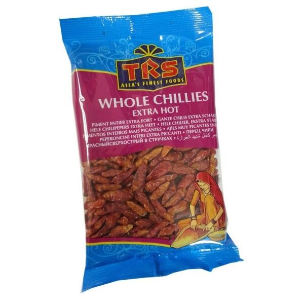 TRS Chillies Whole Ex.Hot 50 Gr.