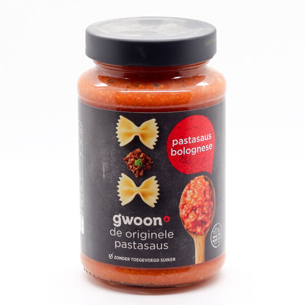 G'Woon Pastasaus Bolognese