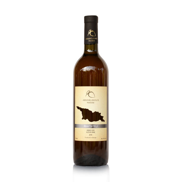 Biodynamic Georgian dry orange wine