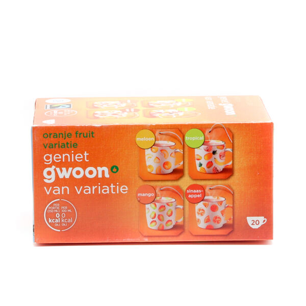 G'Woon Vruchten Thee Mix Oranje Fruit