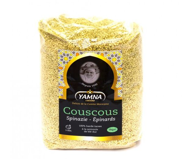 Yamna couscous met spinazie