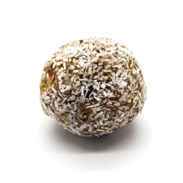 Raw coconut-limet energy ball
