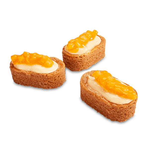 Roomboter Slofje Cheesecake Mango