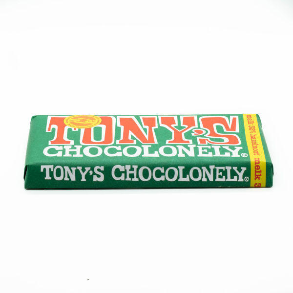 Tony'S Chocolonely Melk Hazelnoot 180 Gr