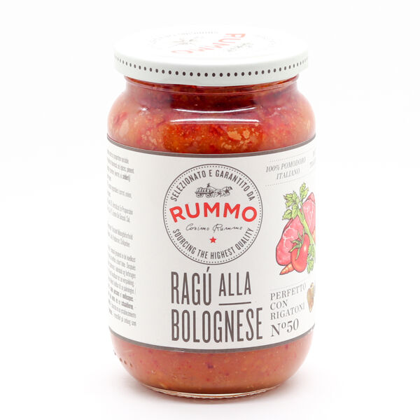 Rummo Pastasaus Bolognese