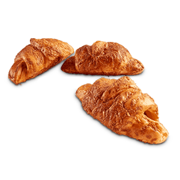Roomboter Hamkaas Croissants